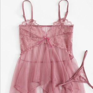 Sexy Pink PJ Lingerie